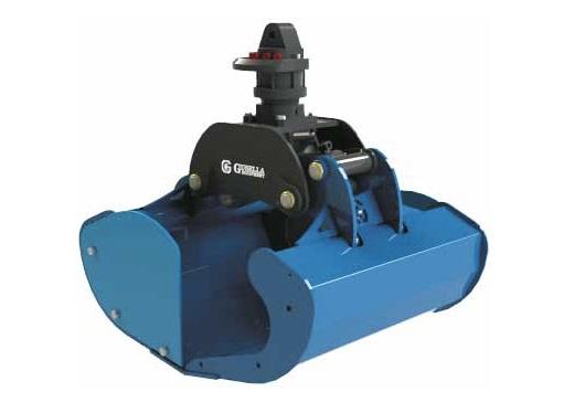 GOA Openschalengrijper   Bakker Hydraulic Products BV